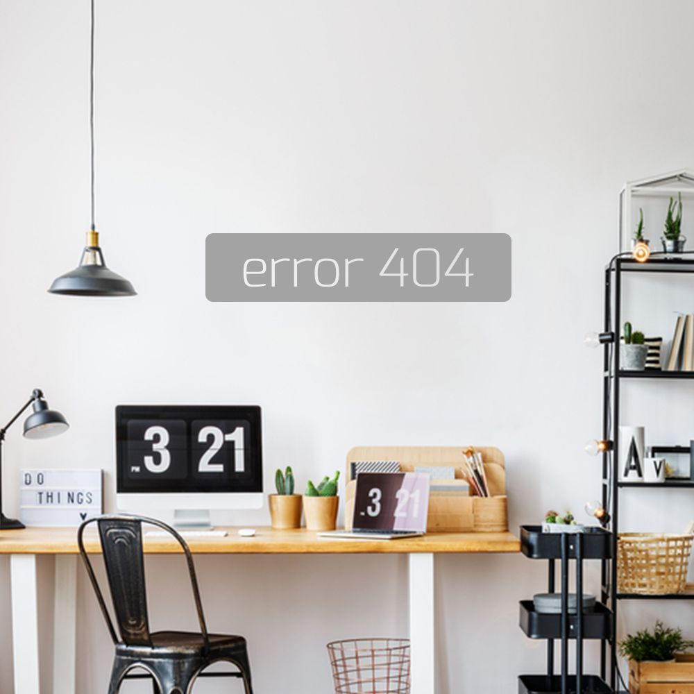 Adesivo de Parede Error 404