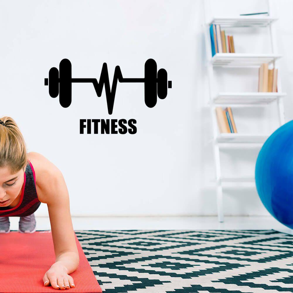 Adesivo de Parede Fitness