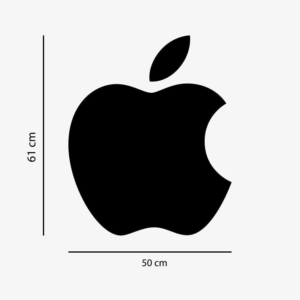 Adesivo de Parede Logo Apple