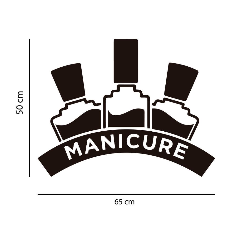 Adesivo de Parede Manicure Esmaltes