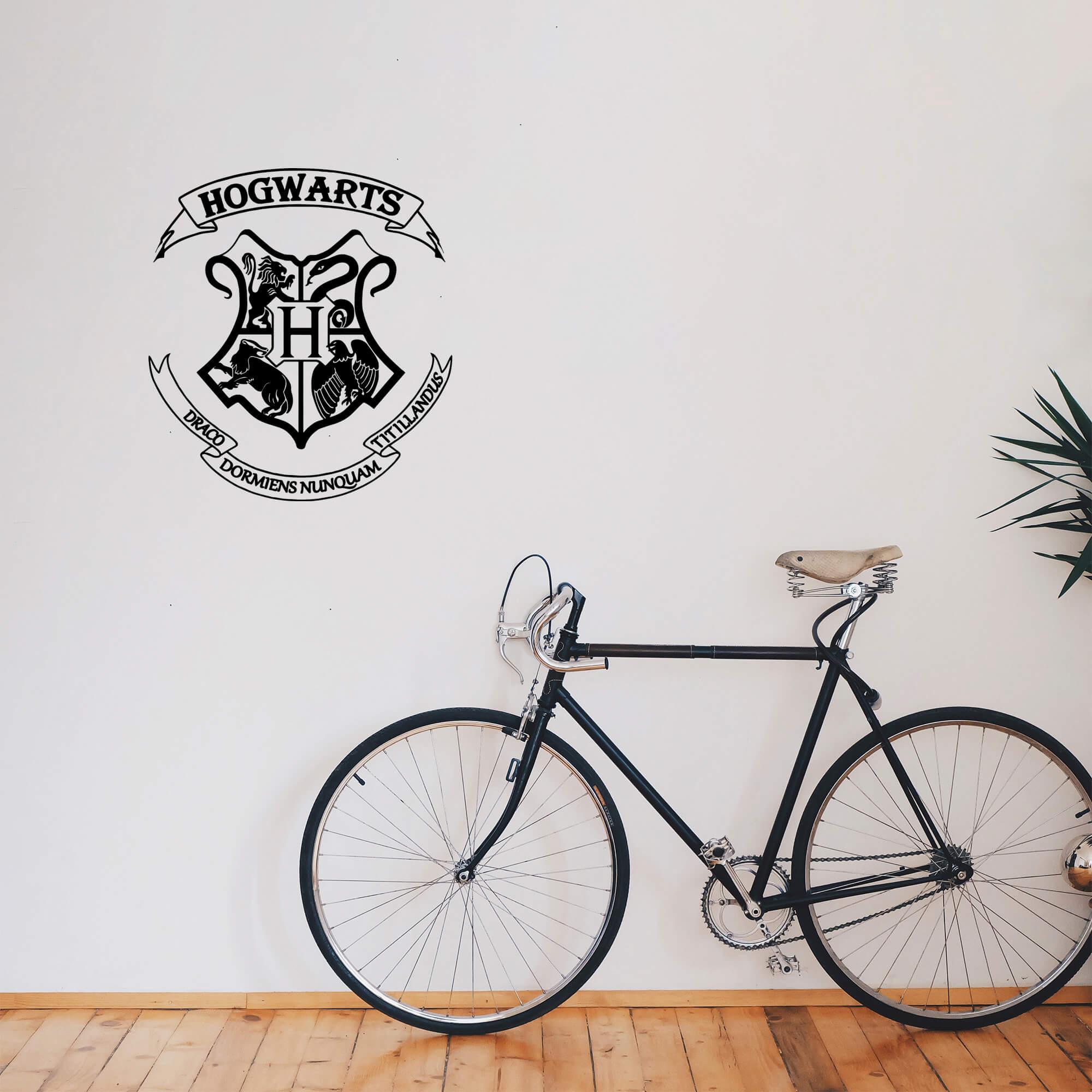 Adesivo Decorativo Brasão Hogawarts Harry Potter Escola Magia