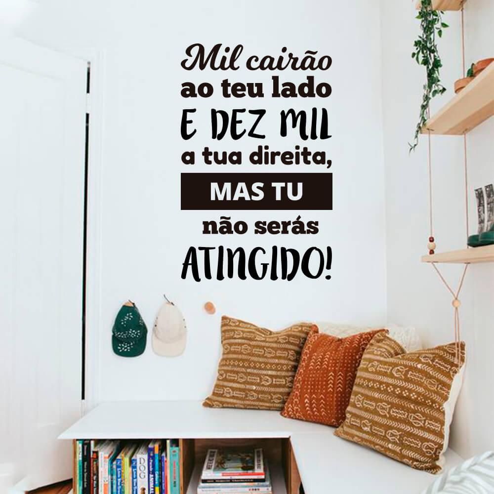 Adesivo Decorativo Parede Salmo Mil Cairão