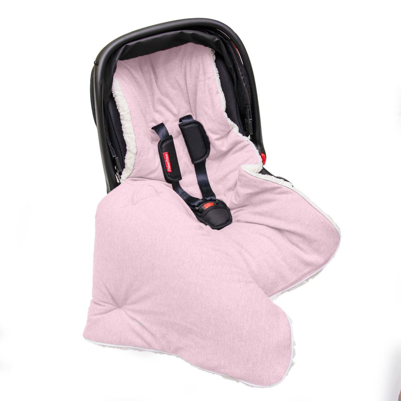 Capa Bebê Conforto 3 em 1 Saco Porta Bebê 100% Algodão