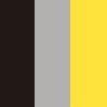 Preto, prata e Amarelo