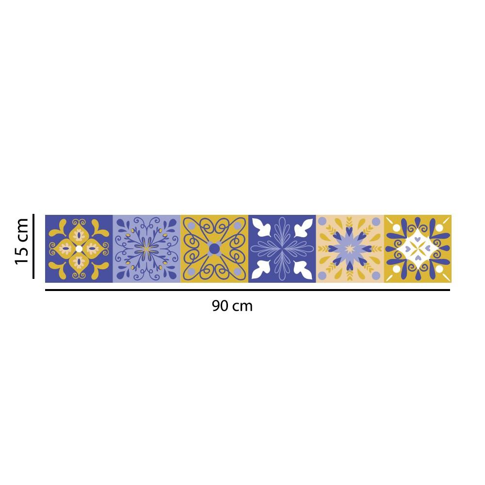 Faixa Border Adesivo Azulejo