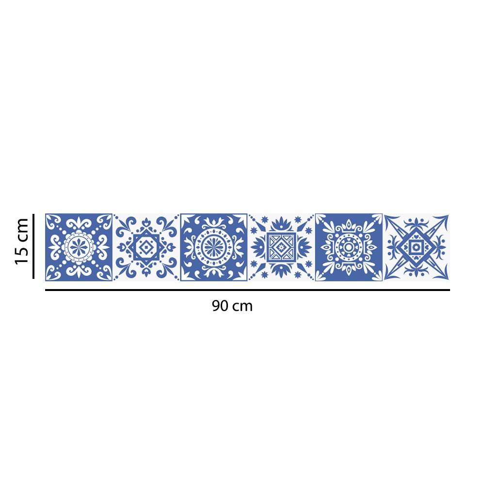 Faixa Border Adesivo Azulejos Portugueses