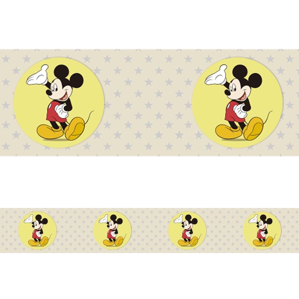 Faixa Border Adesivo Mickey