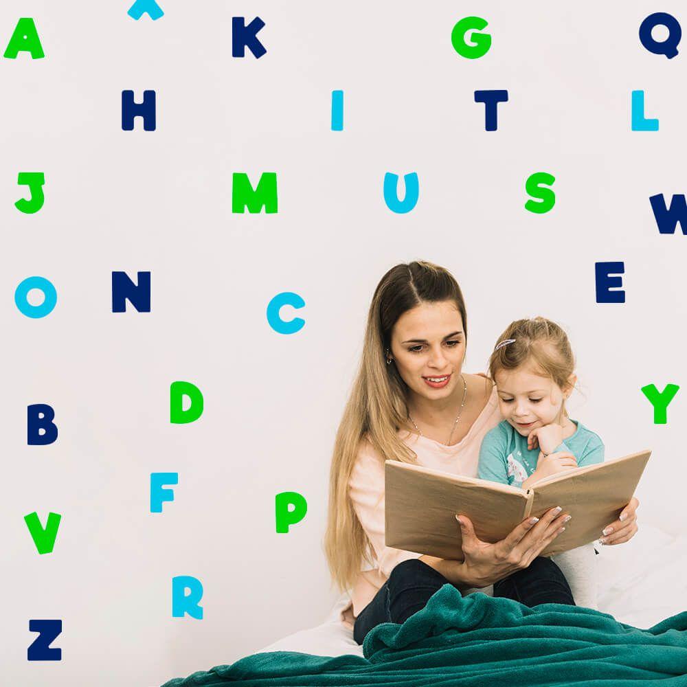 Kit de Adesivos Alfabeto