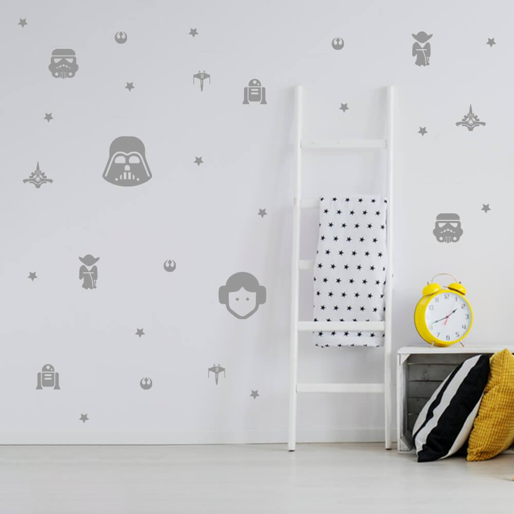 Kit de Adesivos Star Wars