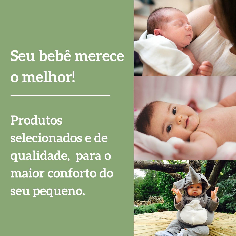 Saco De Dormir Porta Bebê Casulo Quentinho Dupla Face