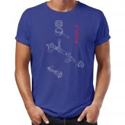 Camiseta Engine Indigo