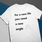 Camiseta New Angle Branca