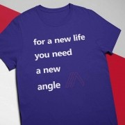 Camiseta New Angle Indigo