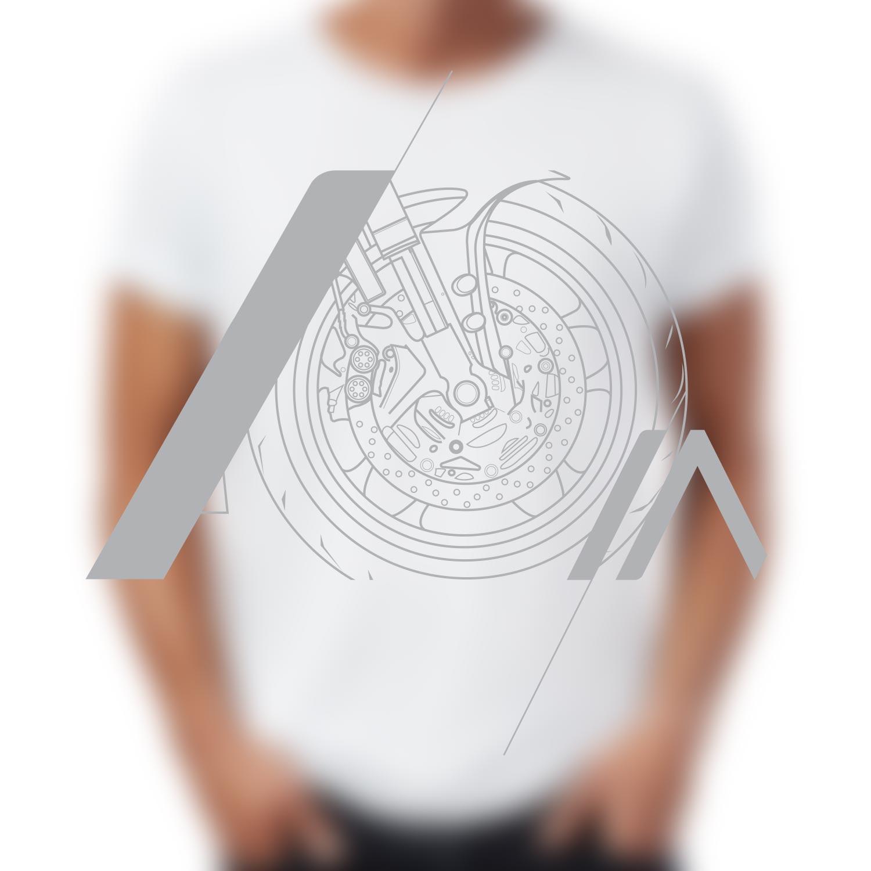 Camiseta Brake Branca