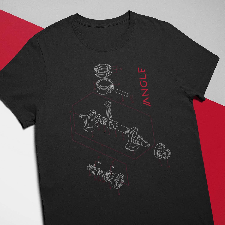 Camiseta Engine Preta