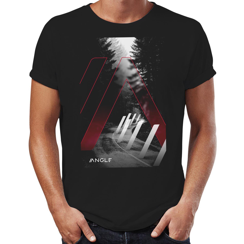 Camiseta Forest Preta