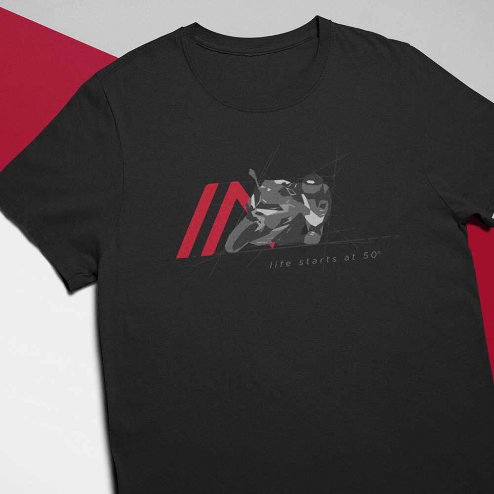 Camiseta 50 Graus Preta
