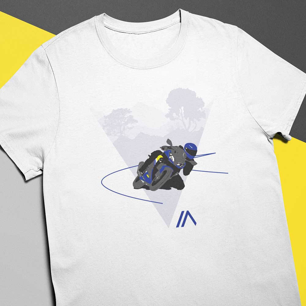 Camiseta VR 46 Branca