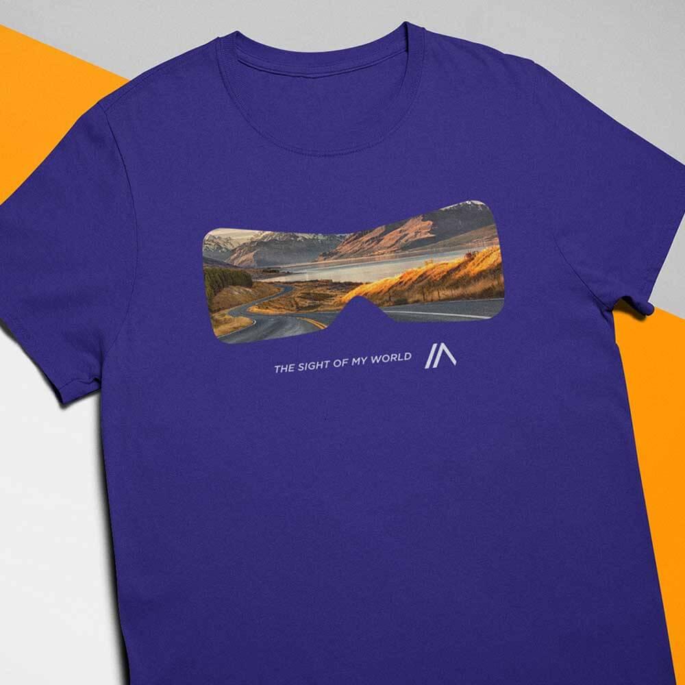 Camiseta Sight Indigo