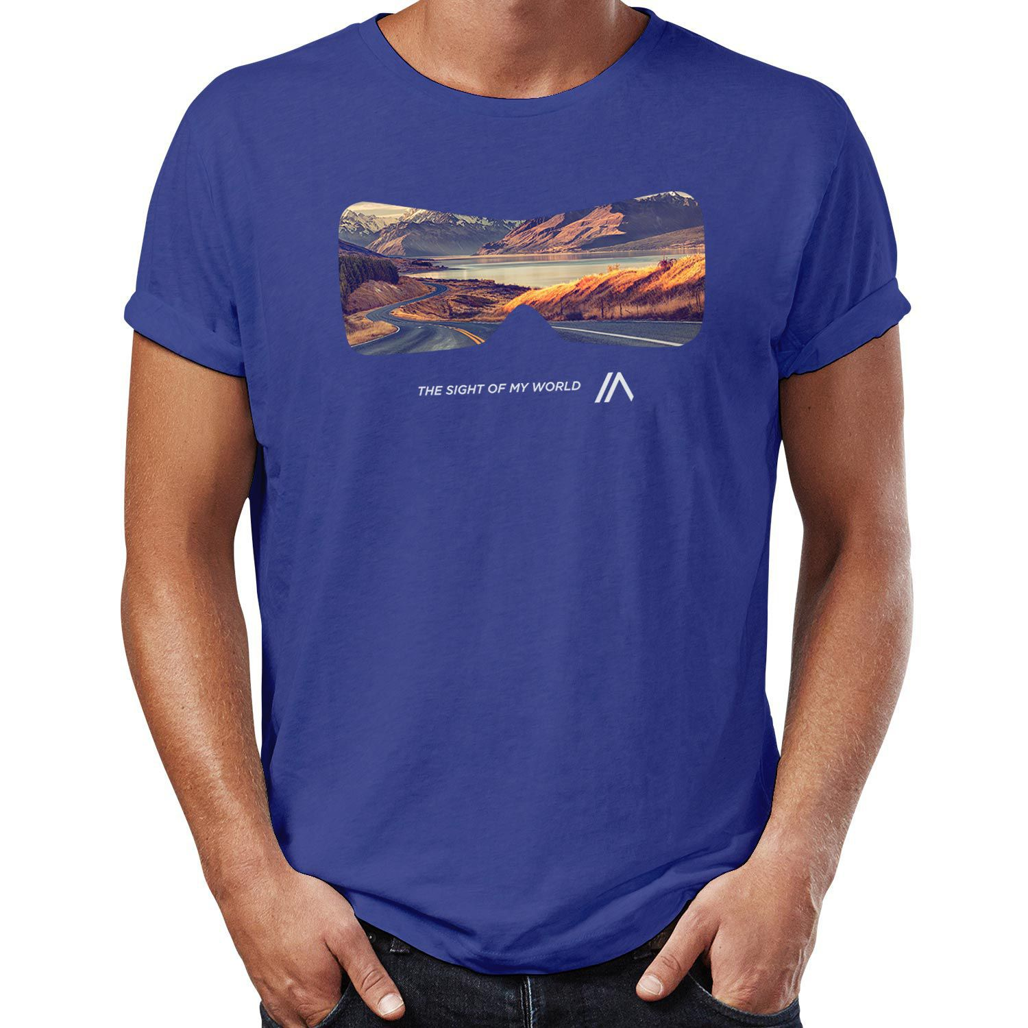 Camiseta Sight Indigo