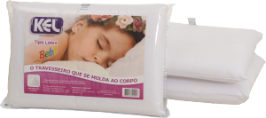 Travesseiro Látex de Poliuretano BEBÊ