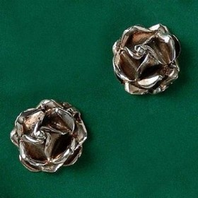 Brinco de Rosa Flor - 3636
