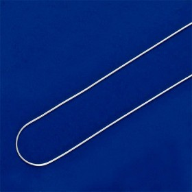 9907 - Corrente Modelo Rabo de Rato Fina em prata 925 - Medida 50cm de comprimento