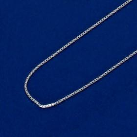 9931 - Corrente de 50cm Modelo Veneziana Fina em prata 925