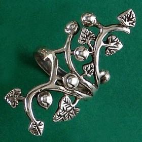 Anel da Árvore da Vida Flor - 4586