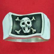 Anel de Bandeira de Pirata Caveira - 93351