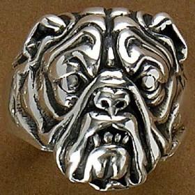 Anel de Cachorro Bulldog - 9309
