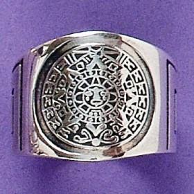 Anel de Calendário Asteca - 1386