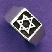 Anel de Estrela de Davi - 15244