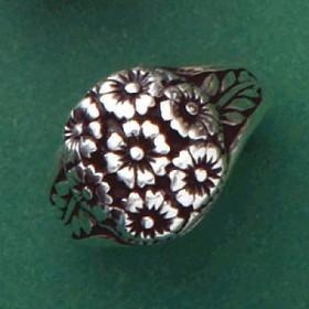 Anel de Flores - 15739