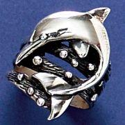Anel de Golfinho - 9393