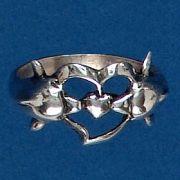 Anel de Golfinhos - 1305