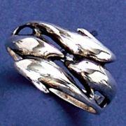 Anel de Golfinhos - 9319