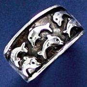 Anel de Golfinhos - 93423