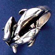 Anel de Golfinhos - 9377