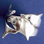 Anel de Golfinhos - 9391