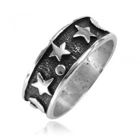 Anel de Lua e Estrela - 15394