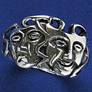 Anel de Máscaras de Teatro - 15241
