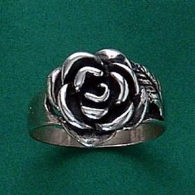 Anel de Rosa Flor - 1356