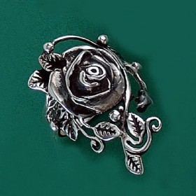 Anel de Rosa Flor - 1548