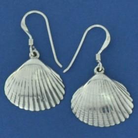 Brinco de Concha do Mar em Prata 950 - 94464