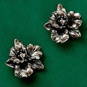 Brinco de Orquídea Flor - 3639