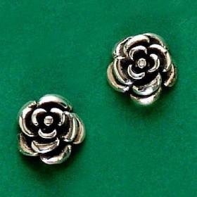 Brinco de Rosa Flor - 9446