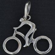 Pingente de Bicicleta Ciclista - 95891