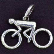 Pingente de Bicicleta Ciclista Homem - 95877