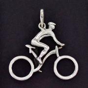 Pingente de Bicicleta Ciclista Passeio Competições - 95904
